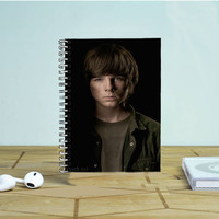 Walking Dead Carl Grimes Photo Notebook Auroid