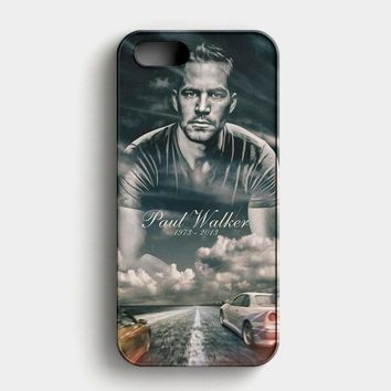 Paul Walker Fast And Furious iPhone SE Case