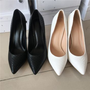 MAYA 2017 Sexy stilettos Spring pointer toe women shoes high heel  Party ladies shoes size 43