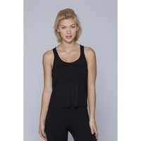 John Tank-BLACK - Tops - WOMEN