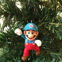 Mario Ornament - Ice Mario