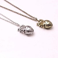 1Pc Europe And The United States 3D Anatomically Heart-shaped necklace, Hollowed Punk Style Heart Pendant Men Necklace