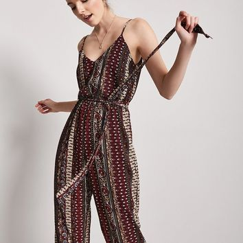 Ornate Print Jumpsuit