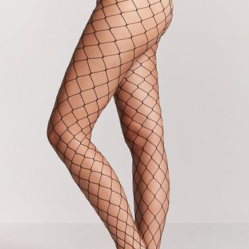 Wide-Fishnet Tights