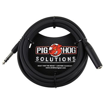 "Pig Hog 10FT 1/4"" Headphone Extension Cable"