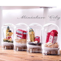 Resin Glass Mini England Style Decoration Photography Props Healing Home Decor [6281770502]