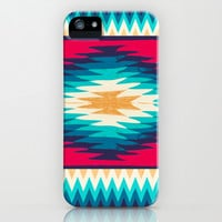 SURF GIRL CHEVRON iPhone & iPod Case by Nika