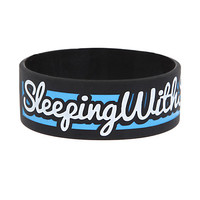 Sleeping With Sirens Forever Rubber Bracelet