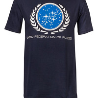 United Federation Of Planets T-Shirt - Navy,