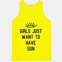Girls Just Want to Have Sun | HUMAN