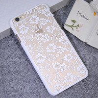 White Four-leaf Clover Case Cover for iPhone 5s 6 6s Plus Gift 21