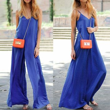 Womens Outfits Bandage Jumpsuit Sleeveless Tops Bodysuit Holiday Ladies Rompers