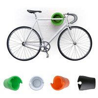 Cycloc Wall Storage Bike Rack by Andrew Lang