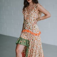 Free Wildflowers Maxi Dress - Orange