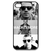 CTSLR Music & Singer Series Protective Hard Case Cover for iPhone 4 & 4S - 1 Pack - Macklemore - 13