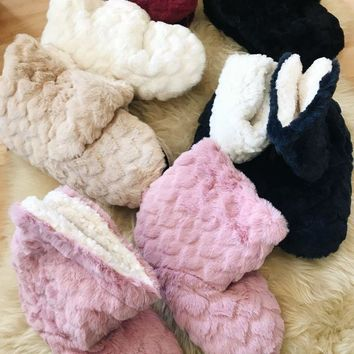 Ari Fleece Boot Slippers