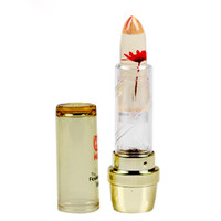 1Pcs Waterproof Double nursing natural protection The flowers do not fade beauty lipstick lip gloss