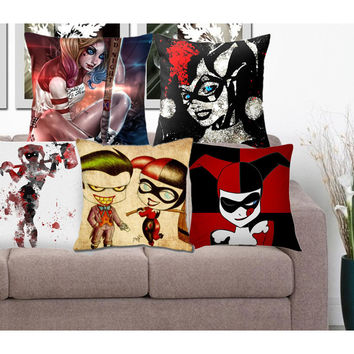 Best joker pillow products on wanelo for Harley quinn bedroom designs