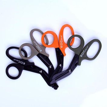 ONETOW EMT EDC gear tactical rescue scissor trauma gauze IFAK emergency first aid Shears outdoor Paramedic bandage tijera rescate