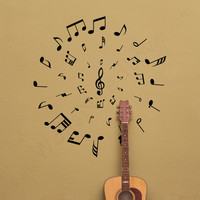 The Musical Warp Wall Decal Is Guaranteed To Transform Your Interior