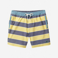 sperry rug-by the bay striped swim shorts