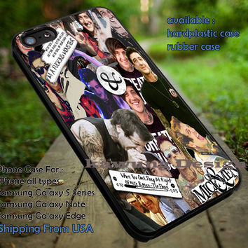 Austin Carlile Collage iPhone 6s 6 6s+ 5c 5s Cases Samsung Galaxy s5 s6 Edge+ NOTE 5 4 3 #music #omm dt