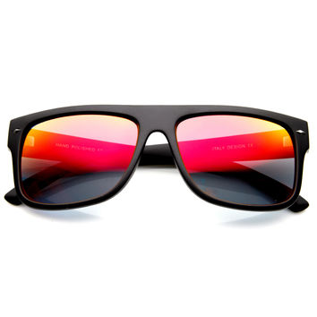 Premium Men's Action Sports Mirror Lens Sunglasses 8884