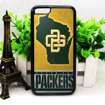 GREEN BAY PACKERS LOGO IPHONE 6 | 6 PLUS | 6S | 6S PLUS CASES