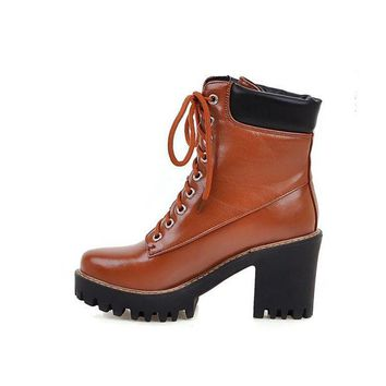 ca DCCKTM4 Hot Deal On Sale Shoes Winter Dr. Martens Flat Round-toe Waterproof Boots [11144747015]