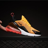 Nike Air Max 270 Orange Red AH8050-004 Sport Running Shoes - Best Online Sale