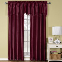Burgundy Soho Window Treatment