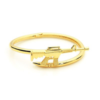 Jewelry New Arrival Stylish Shiny Couple Classics AK47 Bangle [8573751949]