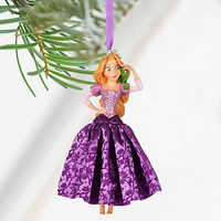 Disney Store 2016 Rapunzel & Pascal Sketchbook Christmas Ornament New With Tags