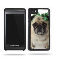 Pug Dog Celebrating St. Patricks Day Blackberry Z10 Case - For Blackberry Z10