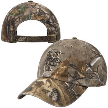 47 Brand New York Mets Realtree Camo Cleanup Adjustable Hat - Camo