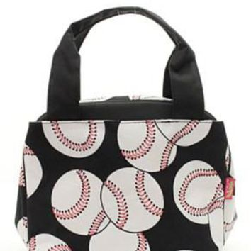 Lunch Tote Baseball - 3 Color Choices