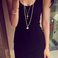 Black Tank Top Dress