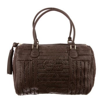 Anya Hindmarch Woven Leather Bag