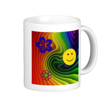 Oh Happy Day Smiley Face Mug