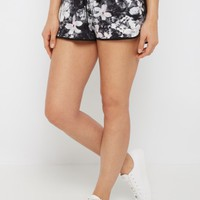 Watercolor Floral Dolphin Short | Active Shorts | rue21