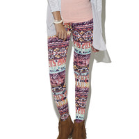 Patchwork Legging | Shop Just Arrived at Wet Seal