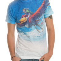 Nintendo The Legend Of Zelda Flying Link T-Shirt