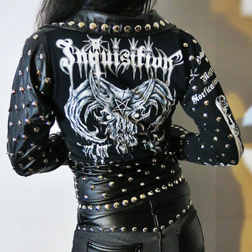 Inquisition Studded Leather Jacket