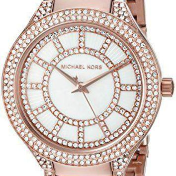 Michael Kors Women's Kerry Rose Gold-Tone stainless Steel Watch MK3313