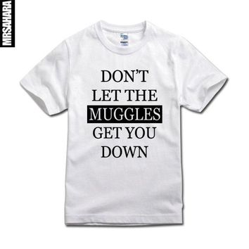 Harry potter t-shirt - don't let the muggles get you down