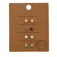 Message Stud Earring Pack - Jewelry - New In This Week  - New In