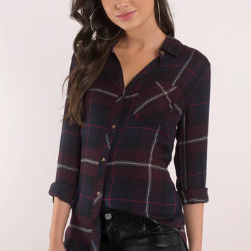 Thread & Supply Plaid About You Button Down Shirt