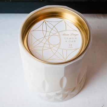 Axiom Candle Jar Lemon & Oak
