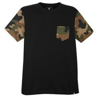 Southpole Camo Sleeve Pocket Short-Sleeve Tee - Men's