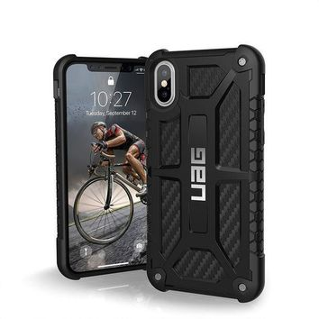 CREYRQ5 UAG iPhone X Monarch Feather-Light Rugged [CARBON FIBER] Military Drop Tested iPhone Case